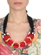 Marni Necklace With Resin Details - RED