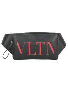 Valentino Garavani Belt Bag - Nero/rouge pur