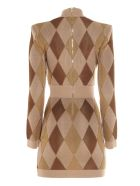 Balmain Dress - Multi/beige