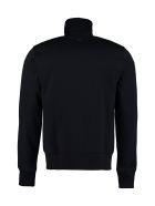 Ami Alexandre Mattiussi Patch Detail Full-zip Sweatshirt - blue