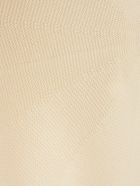 Issey Miyake Dress W/s Tunic Crew Neck Fantasy - White