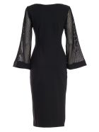 La Petit Robe Di Chiara Boni Dress L/s Bet W/applied Pockets - Nero