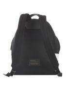 Givenchy Logo Backpack - Black White