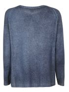 Avant Toi Knitted Sweater - Blue