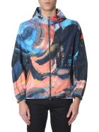 Alexander McQueen Hooded Jacket - MULTICOLOR