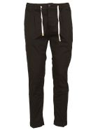 Cruna Drawstring Waist Trousers - Black