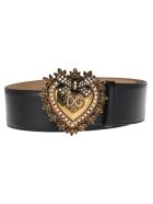 Dolce & Gabbana Dolce&gabbana Devotion Belt - BLACK