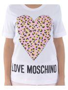 Love Moschino Short Sleeve T-Shirt - Bianco