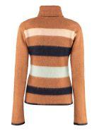 Lanvin Wool Turtleneck Sweater - brown