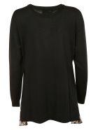 Moschino Knitted Sweater - black