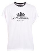 Dolce & Gabbana Branded T-shirt - White