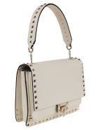 Valentino Garavani Shoulder Bag Rockstud - Bianco