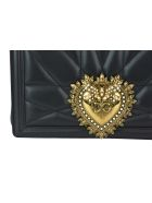Dolce & Gabbana Medium Devotion Bag - Black