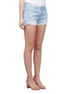 Frame Distressed Denim Shorts - Celeste