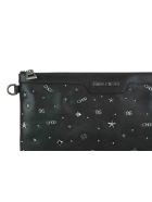 Jimmy Choo Derek Clutch - Black