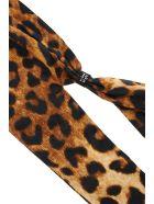 R13 Leopard Print Facescarf Mask - LEOPARD (Brown)