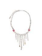 Forte_Forte Crystals Necklace - Argento
