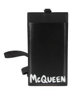 Alexander McQueen Logo Print Smartphone Case - Nero