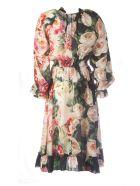 Dolce & Gabbana Flower Pattern Dress - Rose Papaveri