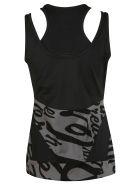 Adidas Training Printed Tank Top - black