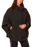 Woolrich W's High Collar Cape 3in1 - Black