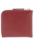 Comme des Garçons Wallet Comme Des Garcons Wallet Comme Des Garçons Luxury Group Zip Wallet - BURGUNDY