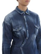 Dsquared2 Distressed Shirt - Blue
