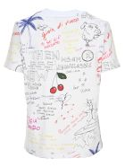 MSGM Graffiti T-shirt - WHITE
