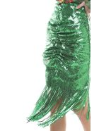 Giuseppe di Morabito Sequin-embellished Draped Skirt - Verde