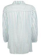 Forte_Forte Forte Forte Striped Shirt - Peacock