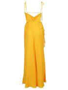 self-portrait Dress - Orange