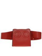 BOYY Deon Red Leather Beltbag - Red