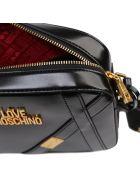 Love Moschino Black Ecoleather Mini Bag - Black
