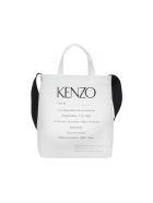 Kenzo Invitation Tote Bag - White