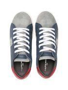 Philippe Model Multicolor Teen Sneakers - Blu