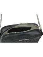 Jimmy Choo Hayat Crossbody Bag - Black/silver