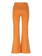Alberta Ferretti Denim Flared Pants - Orange