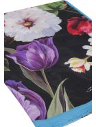 Dolce & Gabbana Floral Print Scarf - Multicolor