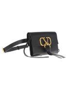 Valentino V-ring Belt Bag - BLACK