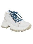 Miu Miu Lace Up Shoes - Bianco