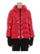 Herno Ludic Effect Down Jacket - Red