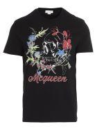 Alexander McQueen 'skull' T-shirt - Black/mix