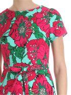 Parosh Peachy Dress - FUCHSIA