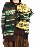 Sacai Cardigan - Multicolor