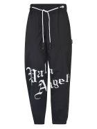 Palm Angels New Gothic Track Pants - Black/White