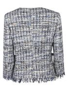 Tagliatore 0205 Fringed Detail Jacket - Basic