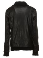 Bully Black Leather Jacket - Nero