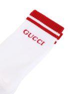 Gucci cotton socks - Rosso