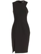 Versace Collection Front Slit Dress - Nero