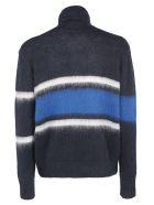 Golden Goose Yoshiro Sweater - Navy/white stripes